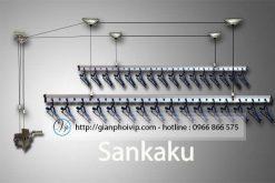 Giàn phơi thông minh Sankaku S01