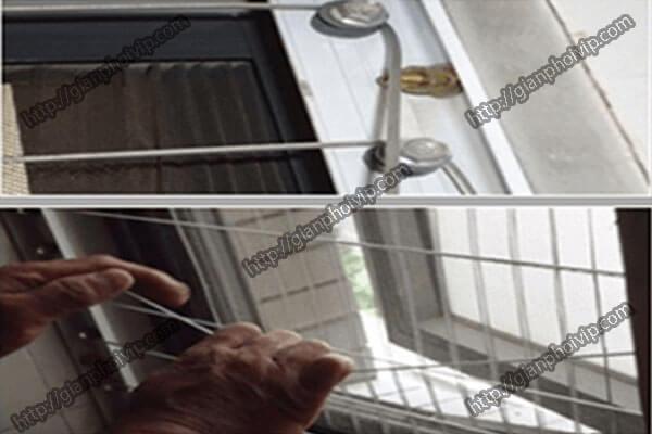 Căng cáp lưới an toàn